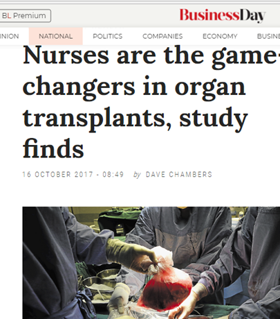 Nurses are the game-changers in organ donation, but a protocol is necessary